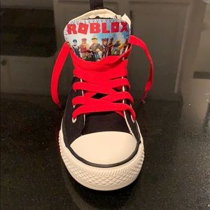 0d676c2e6b7 Shoes | Big Boy Size 13 Roblox High Top Sneakers | Poshmark